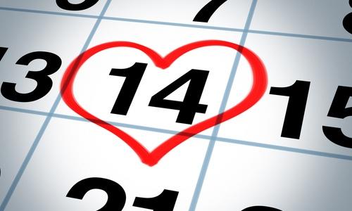 fecha Día San Valentín