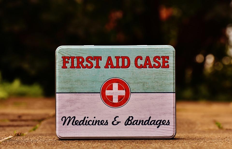 kit salud primeros auxilios
