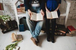Regalar un libro-pareja