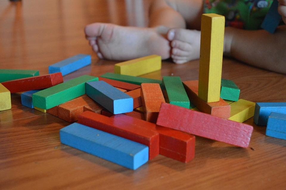 juguete para bebe formas